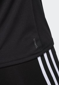 adidas Performance - RUNNING 3-STRIPES T-SHIRT - T-Shirt print - black - 5