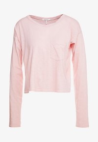 THE CROPPED - Long sleeved top - pink rose
