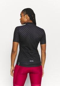 Gore Wear - HAKKA - T-Shirt print - black/graystone - 2
