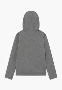 Nike Sportswear - CLUB - Bluza z kapturem - carbon heather/black - 1