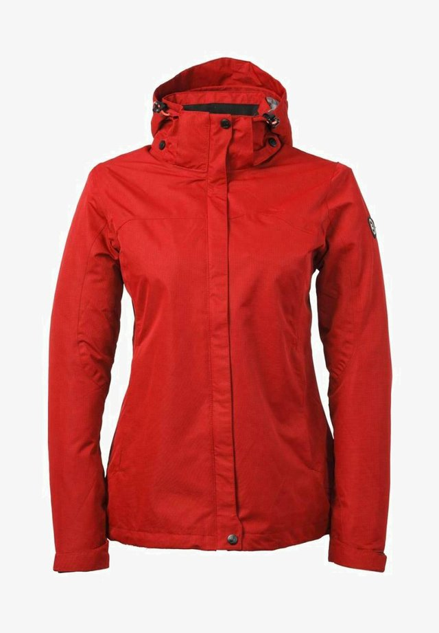 Waterproof jacket - red