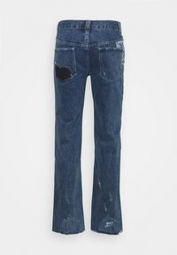 Jaded London - REWORKED PATCHWORK  - Bootcut jeans - blue - 1