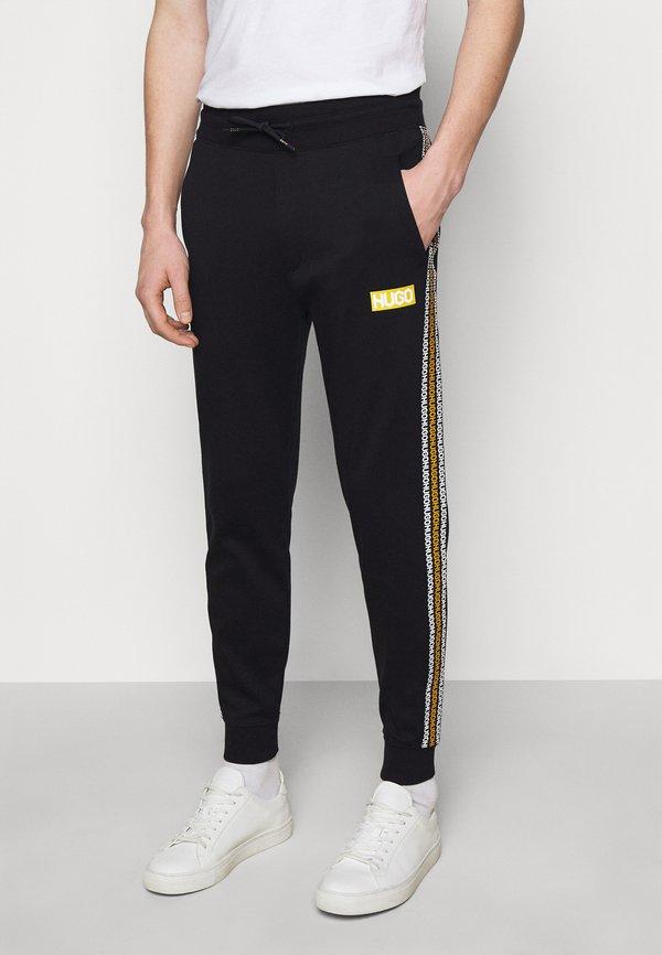 HUGO DONBURI - Spodnie treningowe - black/czarny Odzież Męska IGAS