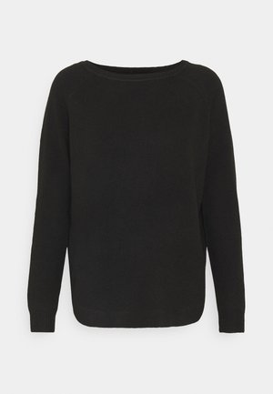 ONLELENA BOATNECK - Jumper - black