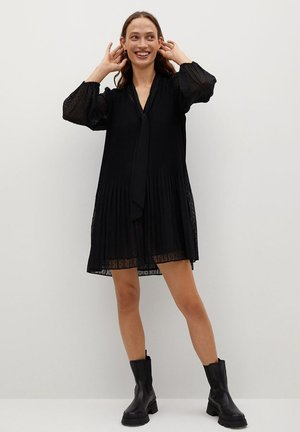 LACITO - Shirt dress - schwarz