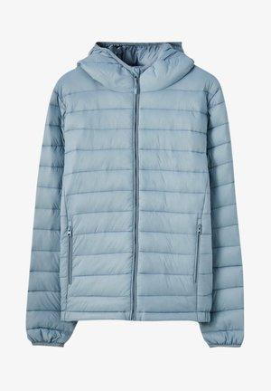 Talvitakki - mottled light blue