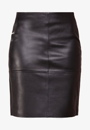 CECILIA - Pencil skirt - black