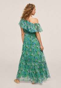 Mango - TUULITA - Maxi dress - grün - 1
