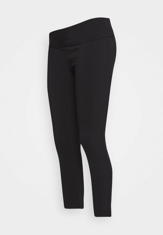 SUZIE CAPRI PANT - Trousers - black