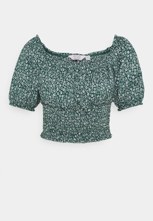 GREEN DITSY TEA - Blouse - green