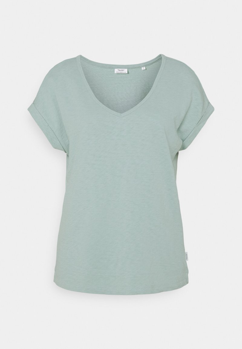 Marc O'Polo DENIM - SHORT SLEEVE WIDE BODYSHAPE - Basic T-shirt - light carib