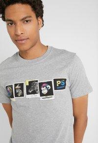 PS Paul Smith - SLIM FIT PHOTOS - Print T-shirt - grey - 4