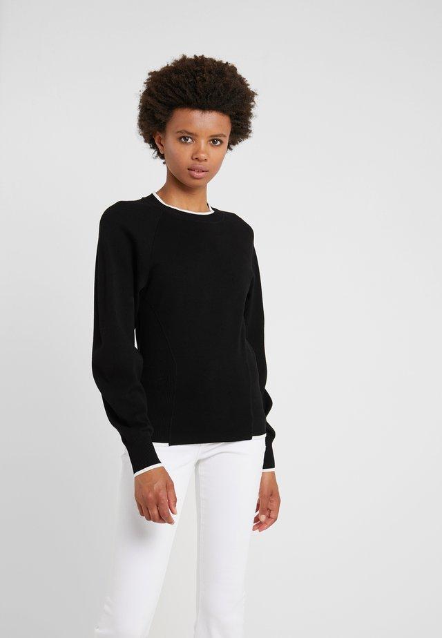 ADATTO - Sweter - schwarz