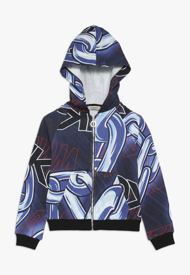 Pinko Up - PALLAVOLISTA GIUBBINO ST. CATENE - Zip-up hoodie - blue