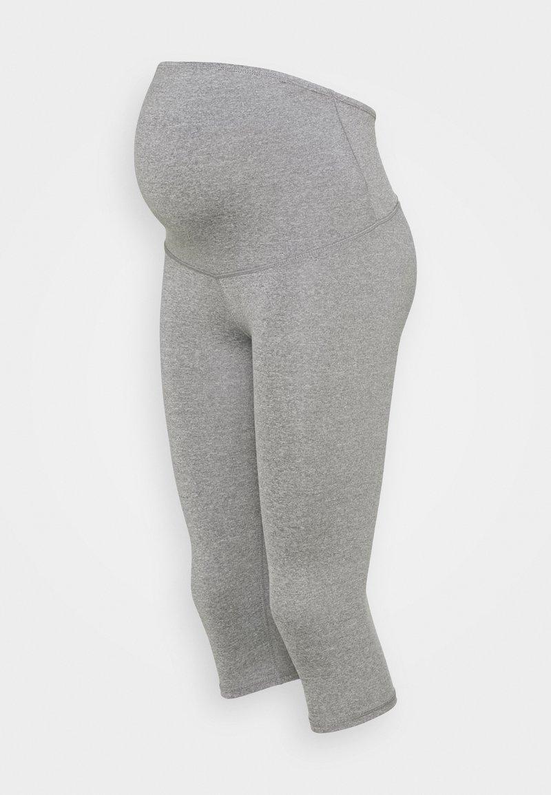 Cotton On Body - MATERNITY CORE CAPRI OVER BELLY - Medias - mid grey
