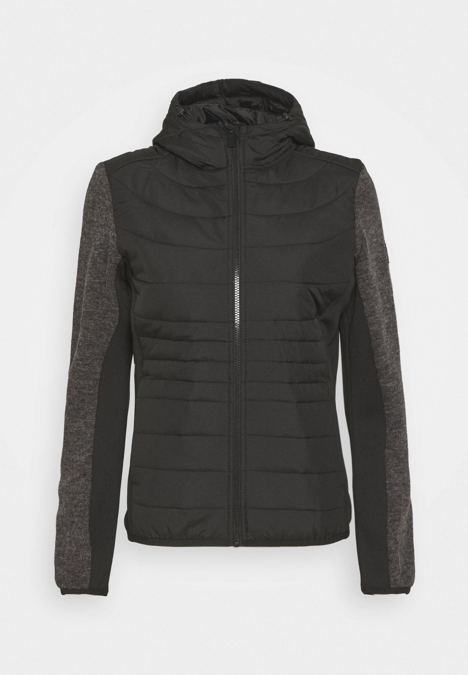 Women PEMBLE HYBRID - Fleece jacket