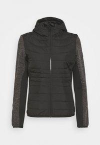 Regatta - PEMBLE HYBRID - Fleece jacket - black - 0