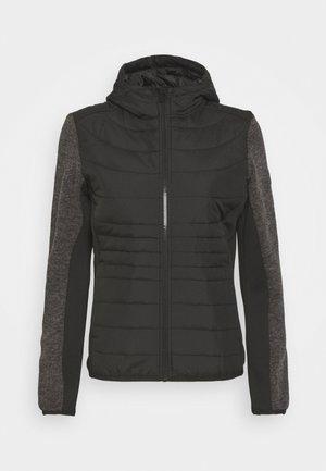 PEMBLE HYBRID - Fleece jacket - black