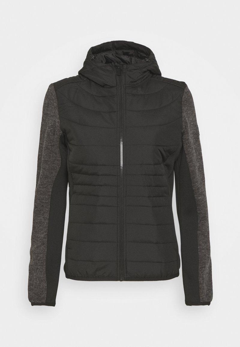 Regatta - PEMBLE HYBRID - Fleece jacket - black