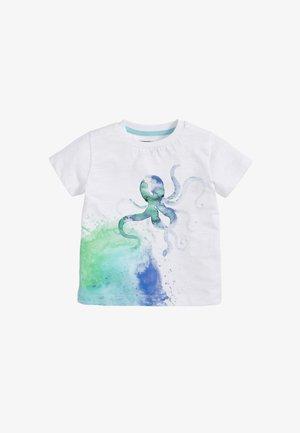 OCTOPUS  - Print T-shirt - white