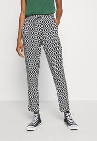 ONLY - ONLNOVA LIFE PANT - Trousers - black - 0