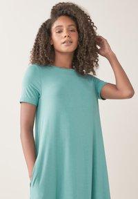 Next - COLUMN  - Maxi dress - teal - 3