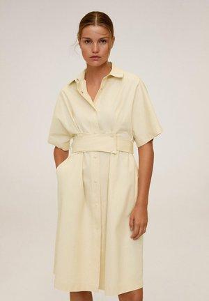 PIRULETA-H - Robe chemise - pastellgelb