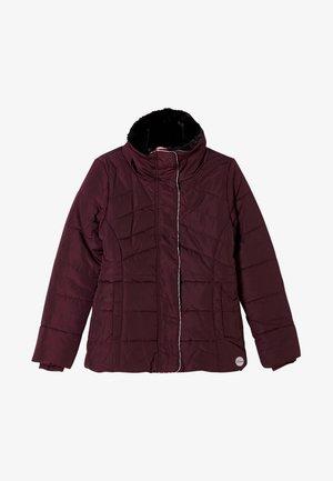 Winter jacket - berry
