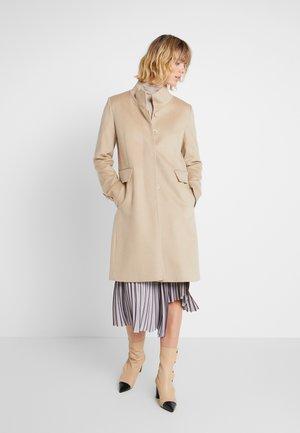 COAT - Classic coat - light camel
