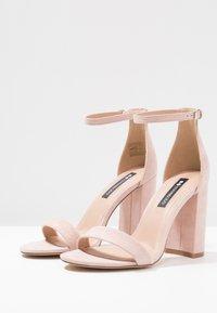 Even&Odd - Sandály na vysokém podpatku - rose - 4
