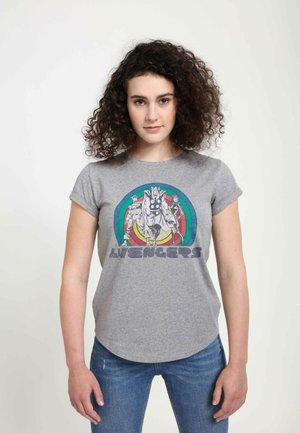 MARVEL AVENGERS  - T-shirts print - melange grey