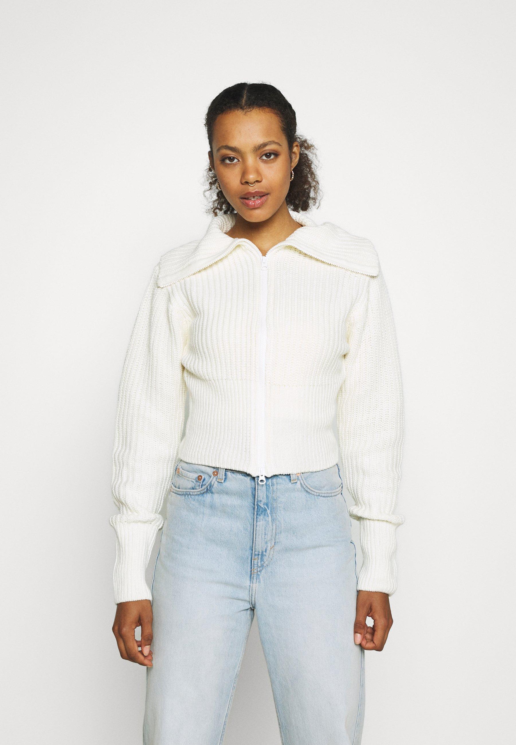 Donna PEYTON CARDIGAN - Cardigan - warm white