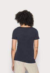 Esprit - CORE  - Basic T-shirt - navy - 2