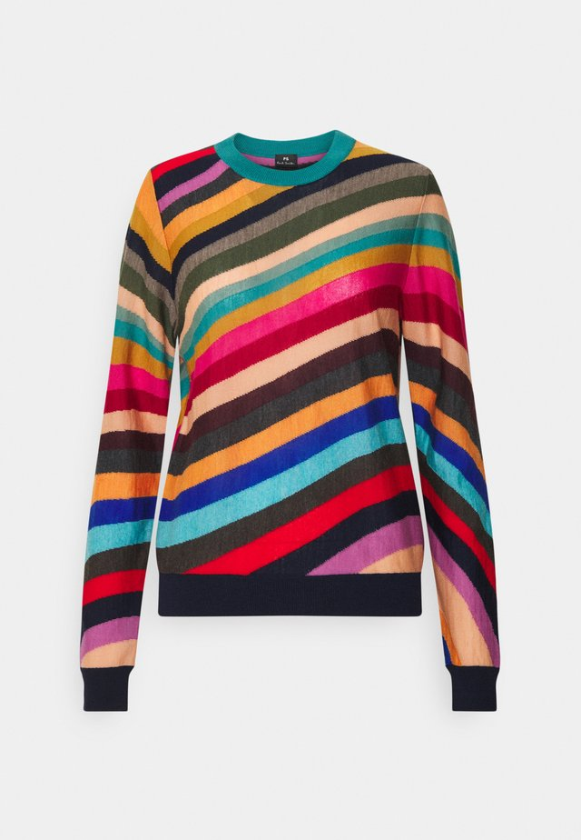 WOMENS SWIRL JUMPER - Strickpullover - multi