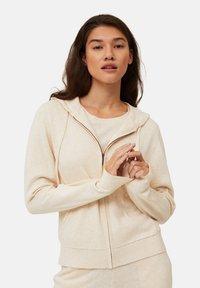 Lexington - JUNE - Zip-up sweatshirt - light beige melange - 0