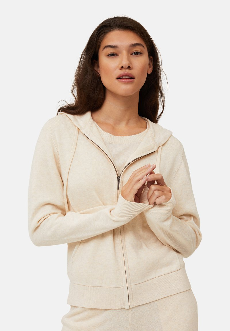 Lexington - JUNE - Zip-up sweatshirt - light beige melange