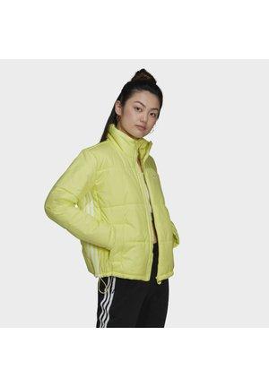 SHORT PUFFER MIDWEIGHT JACKET - Light jacket - yellow