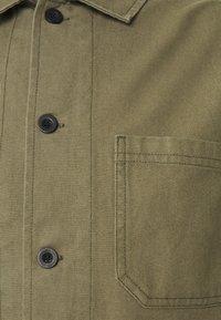 Burton Menswear London - LONG SLEEVE POCKET - Shirt - khaki - 8