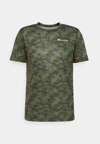 Champion - CREWNECK  - Print T-shirt - khaki - 4