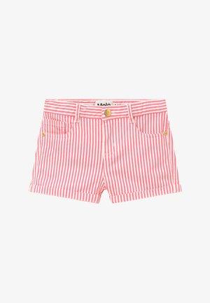 AUDREY - Džínové kraťasy - pink