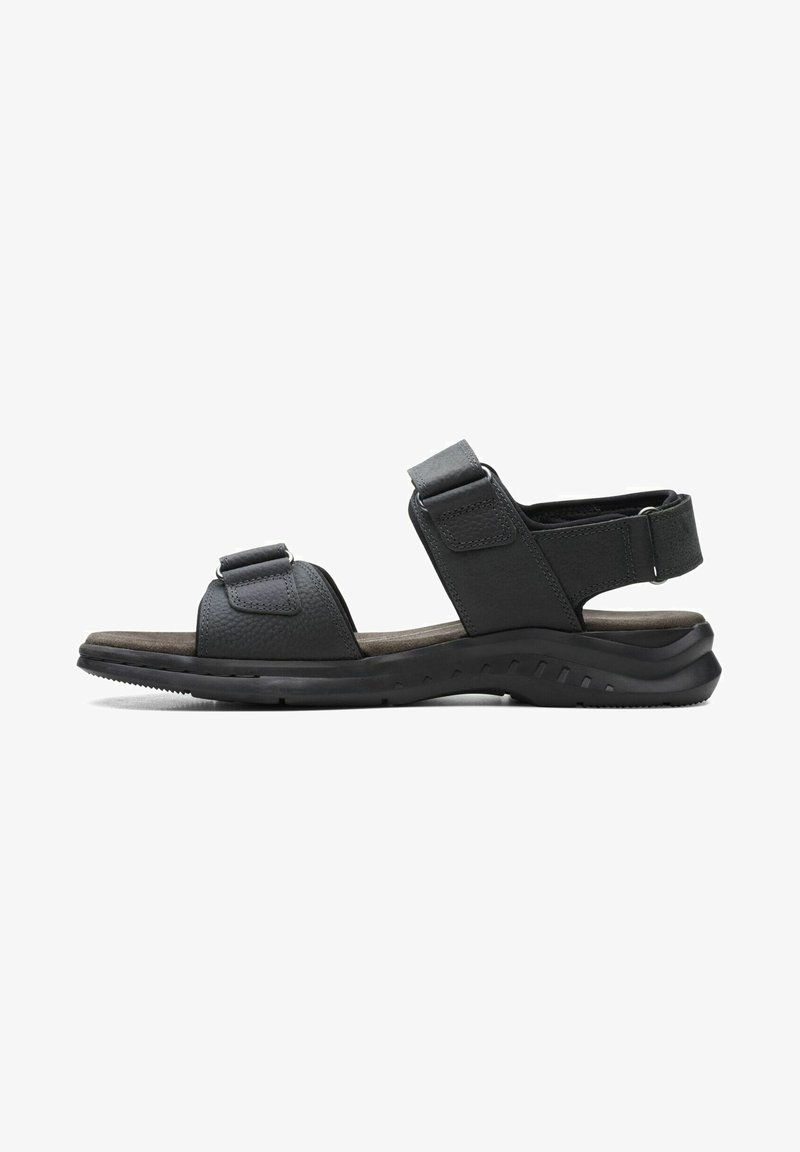 Clarks - CREEK - Walking sandals - black leather