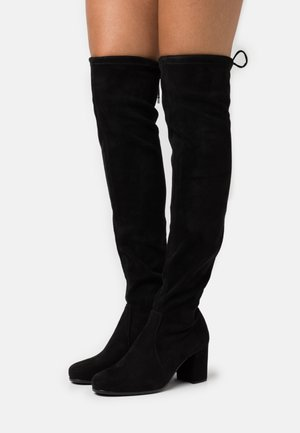 ORGA - Over-the-knee boots - black