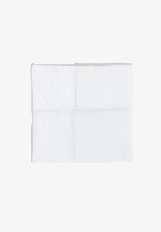 MR. RIGHT - Pocket square - creme