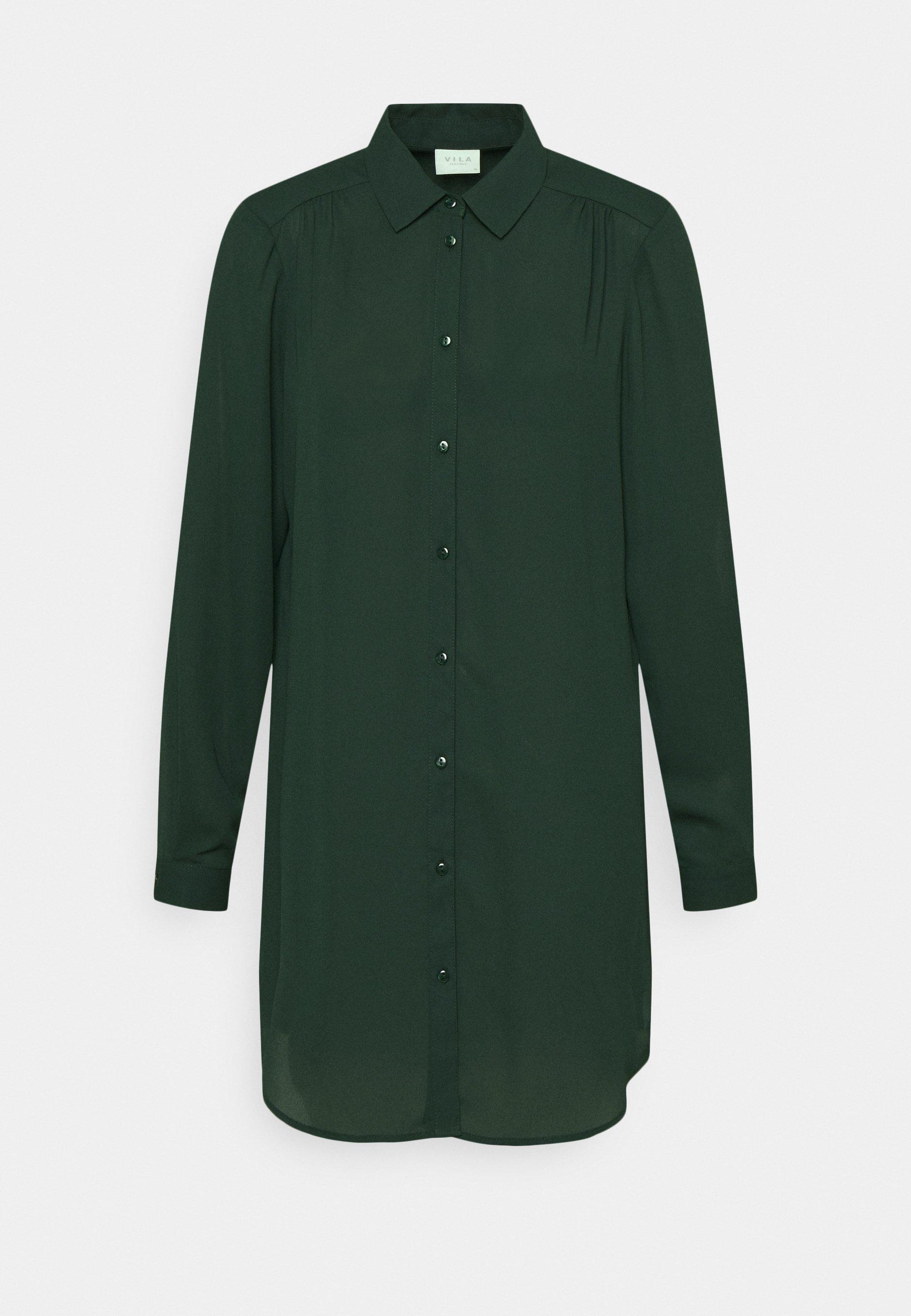 Women VILUCY BUTTON - Button-down blouse