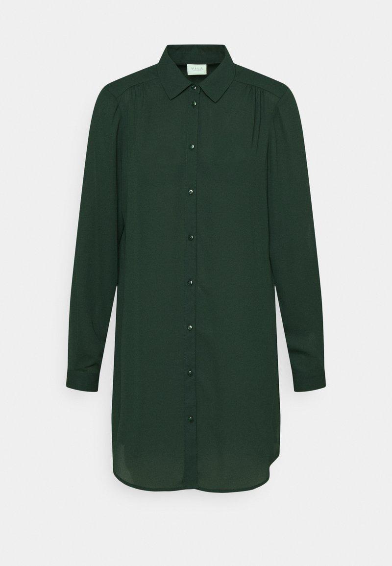 Vila - VILUCY BUTTON - Button-down blouse - pine grove