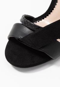 Miss Selfridge Wide Fit - WIDE FIT STELDA HILDA UPDATE - High heeled sandals - black - 2