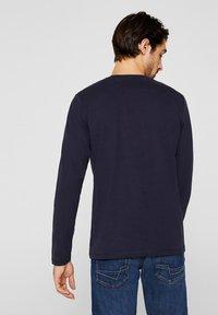 Esprit - LONG SLEEVE - T-shirt à manches longues - navy - 2