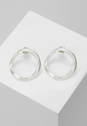 MY ENERGY HOOP EARRING - Pendientes - silver-coloured