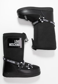 Love Moschino - SKI BOOT - Winter boots - black - 3