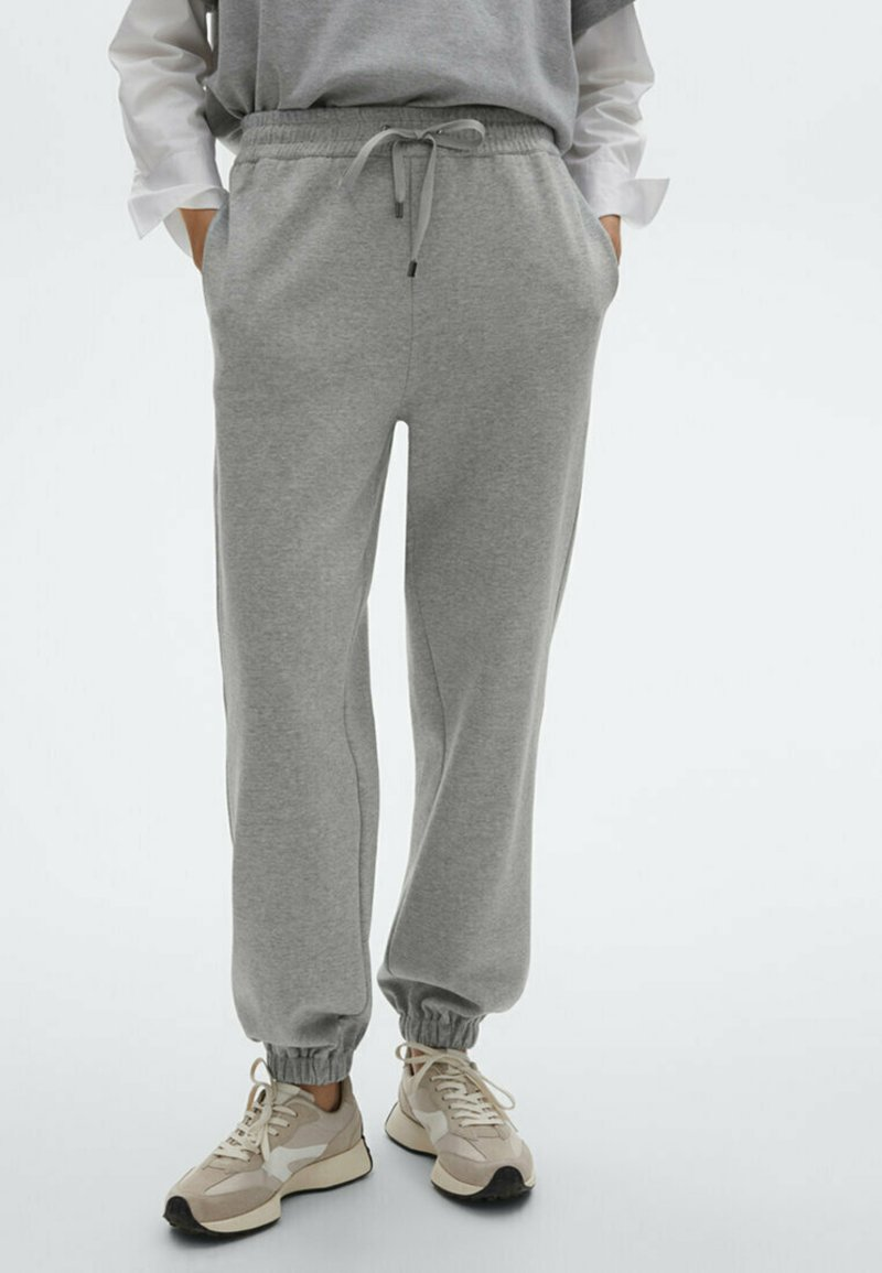 Massimo Dutti - Tracksuit bottoms - light grey